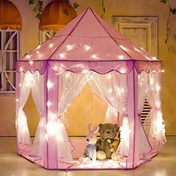 Princess Fairy Tale Castle Play Tent,Portable Fun Perfect He