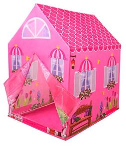 Kiddie Play Princess Playhouse Kids Play Tent for Boys & Gir