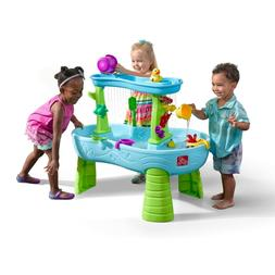 Step2 Rain Showers Splash Pond Water Table Kids Playset with