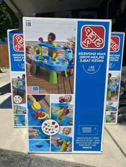 Step2 Rain Showers Splash Pond Water Table For Kids With 13