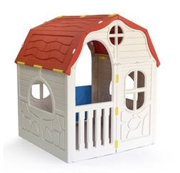 Ram Quality Products Kid's Cottage Foldable Plastic Toddler