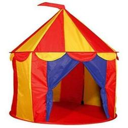 1 X Red Floor Circus Tent Indoor Children Play House Outdoor