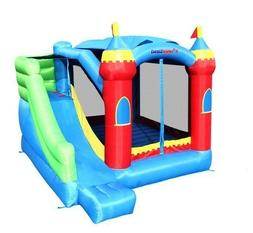 Bounceland Royal Palace Bounce House with Slide - 500 lb Wei