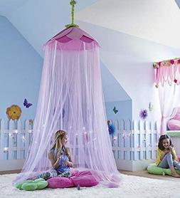 HearthSong® Secret Garden Hideaway Bed Canopy Hanging Play
