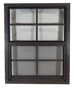 "Shed Windows 18"" W x 23"" H - Flush Mount - Playhouse Windows"