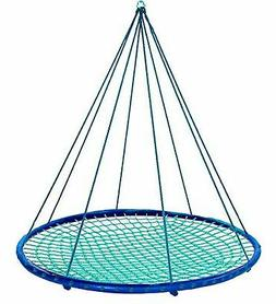 Sky Island Giant Outdoor Hanging Round Platform Swing for Mu