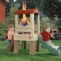 Kids Outdoor Slide Playhouse Toy Climb Children Garden Yard