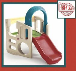Sports Center Playhouse Playset Climber Swing Slide Play Toy