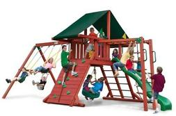 Gorilla Playsets Sun Climber II Swing Set with Sunbrella Can