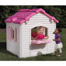 Girls Sweetheart Playhouse Charming Decor Girl Garden Preten