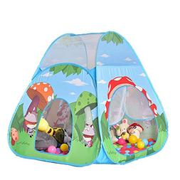 chinatera Kids Teepee Play Tent Outdoor Indoor Ball Pit Baby