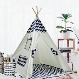 Teepee Tent for Kids Teepee Play Tent Mat for Boys Indoor Ou