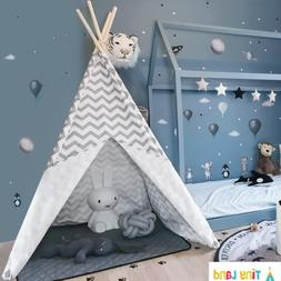 Tiny Land Teepee Tent for Kids, Children Play Tent for Indoo