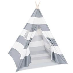 DalosDream Teepee Tent for Kids-100% Natural Cotton Canvas C