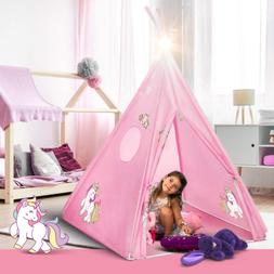 Tent for Kids Unicorn Tepee Play Tent Indoor and Outdoor Pla