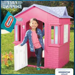 Toddler Playhouse Cottage Girl Princess Outdoor Yard Toy Pre